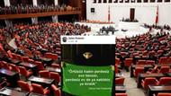 Kadınlarla ilgili skandal paylaşım Meclis gündeminde