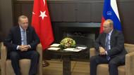 Putin'le Erdoğan Suriye'nin kuzeyini görüşmek için Soçi'de bir araya geldi