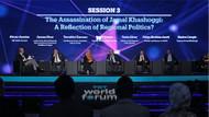 TRT World Forum'da Kaşıkçı Cinayeti konuşuldu