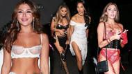 Paris Hilton'un Cadılar Bayramı partisinde kostümlerini giymeyi unuttular