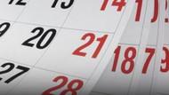 Resmi tatil günleri ne zaman? 2019-2020 resmi tatil günleri