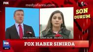 FOX Muhabiri Öznur Aslan, İsmail Küçükkaya'nın o sorusunda gözyaşlarını tutamadı