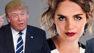 Tuğçe Kazaz'dan ABD Başkanı Trump'a sert yanıt: Eşsiz bilgeliğine tüküreyim