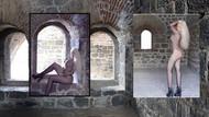 Aziziye Tabyasında leopar mayolu pozlar veren Kübra Erzurum'u karıştırdı