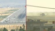 Barış Pınarı Harekatı'ndan canlı yayın! Türk jetleri vuruyor