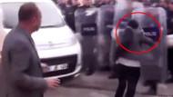 Polis kalkanına kafa atan HDP'li Ayşe Sürücü sosyal medyada gündem oldu