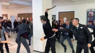 Ankara Üniversitesi'nde özel güvenlik görevlileri öğrencilere coplarla saldırdı!
