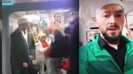 Marmaray'da tacize uğrayan vatandaş için metroda ilahi söyledi