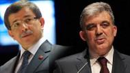 Abdullah Gül'ün Ahmet Davutoğlu planı