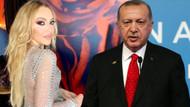 Hadise'den flaş Cumhurbaşkanı Erdoğan açıklaması
