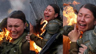 Dünyayı şoke eden görüntüler! Polisleri diri diri yaktılar