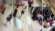 Manavdan para çalmakla suçlanan kadın elbisesini çıkarıp soyundu