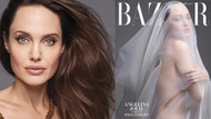 Angelina Jolie Brad Pitt'i protesto etmek için soyundu