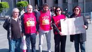 Grup Yorum için adalet nöbetinde ikinci hafta: Onlara destek olmanız lazım