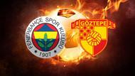 Fenerbahçe Göztepe'yi konuk ediyor! İşte ilk 11'ler
