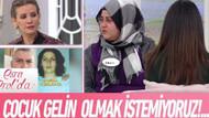 Esra Erol'da çocuk gelinin itirafları: Babası 100 bin liraya satmış