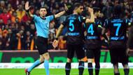 Ümit Öztürk Trabzonspor'a 1, Galatasaray'a 4 sarı kart gösterdi