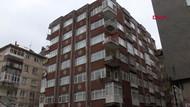 Bahçelievler'de 8 katlı bina yıkılma tehlikesiyle boşaltıldı