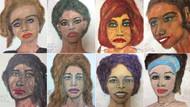 FBI bir seri katilin öldürdüğü kadınlara ait çizimlerini yayımladı