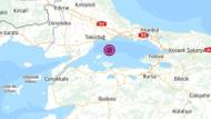Son dakika: Marmara Denizi'nde 3.8 büyüklüğünde deprem!
