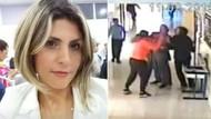 Skandal olay: Kadın öğretmeni okulda böyle darp ettiler!