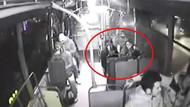 Genç kız bağırınca otobüstekiler taciz şüphelisini linç etti!