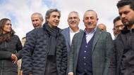 Dışişleri Bakanı Mevlüt Çavuşoğlu Nöbet dizisinin setinde