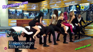 Meksika televizyonundan canlı yayında flaş uzun eşek oyunu