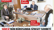 Yılmaz Özdil'den Zeybekci'nin Sözcü ziyareti için şok sözler