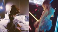 Şeyma Subaşı'nın yatak odasındaki olay dans görüntüleri