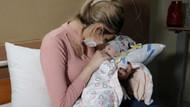 4 aylık bebekten böbrek büyüklüğünde tümör çıktı