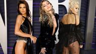 Vanity Fair partisine dekolteler damga vurdu