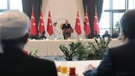 Erdoğan kanaat önderleri ile görüştü