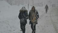 Meteoroloji'den son dakika yoğun kar yağışı uyarısı