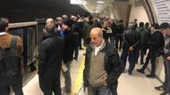 Üsküdar Çekmeköy metro hattında arıza