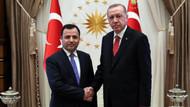 Erdoğan Anayasa Mahkemesi Başkanı Arslan'ı kabul etti