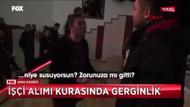 Türkiye bu görüntüyü konuşuyor: İşçi alım kurasında genç kadının ben açım isyanı