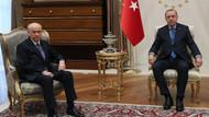 Beştepe'de Erdoğan Bahçeli görüşmesi