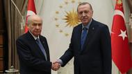 Cumhurbaşkanı Erdoğan MHP lideri Bahçeli ile görüştü