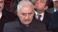AK Parti'nin İstanbul adayı Binali Yıldırım çöken binada