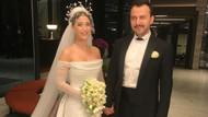 Hazal Kaya ve Ali Atay evlendi: Düğünden ilk görüntüler