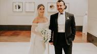 Hazal Kaya ile Ali Atay yılın düğününde evlendi