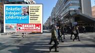 Ankara'da esrarengiz gazete: Metro, otobüs, dolmuş duraklarında...