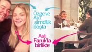 Özge Ulusoy'un eski sevgilisi Faruk, Ata Demirer'in eski sevgilisi Aslı Turanlı ile aşk yaşıyormuş