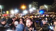 Taksim'de ezan eylemine polis müdahalesi