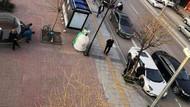 Kenan Sofuoğlu aracını otobüs durağına park edip başına 3 kişi bıraktı