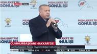 Erdoğan: Taksim'de Ezanı ıslıklayanların arkasında CHP ve HDP var