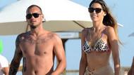 Wesley Sneijder'in ve Yolanthe Cabau'ya şiddet uyguladığı iddia edildi!