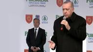 Erdoğan konuşmasını bölen kadına kızdı: Hanımefendi provoke etme bizi