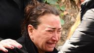 Demet Akbağ'ın eşi Zafer Çika'nın cenazesinde utandıran anlar